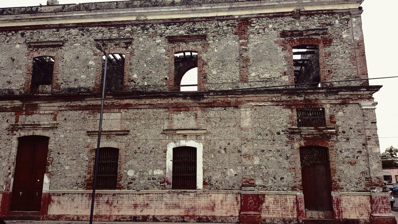 Low Angle View Of Old Building In City