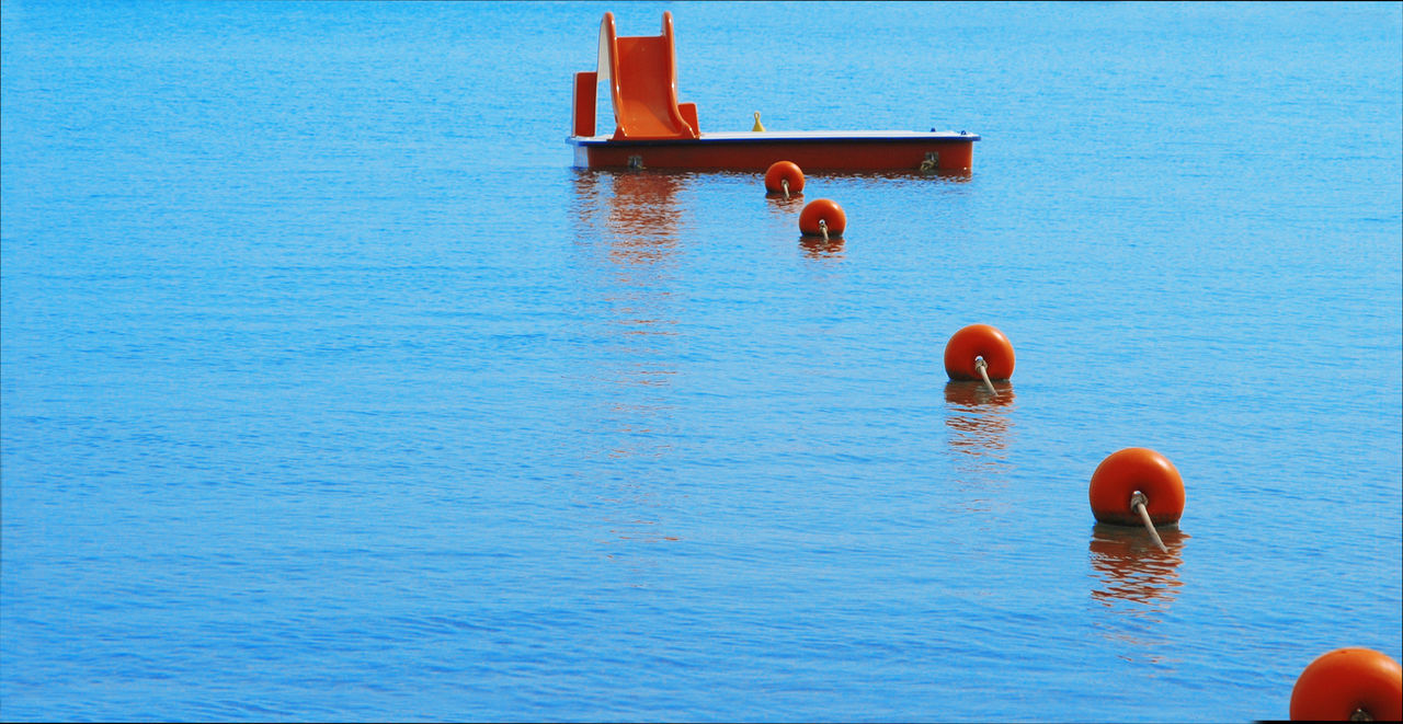 Beautiful stock photos of industrial, Blue, Buoy, Close-Up, Commercial Fishing Net