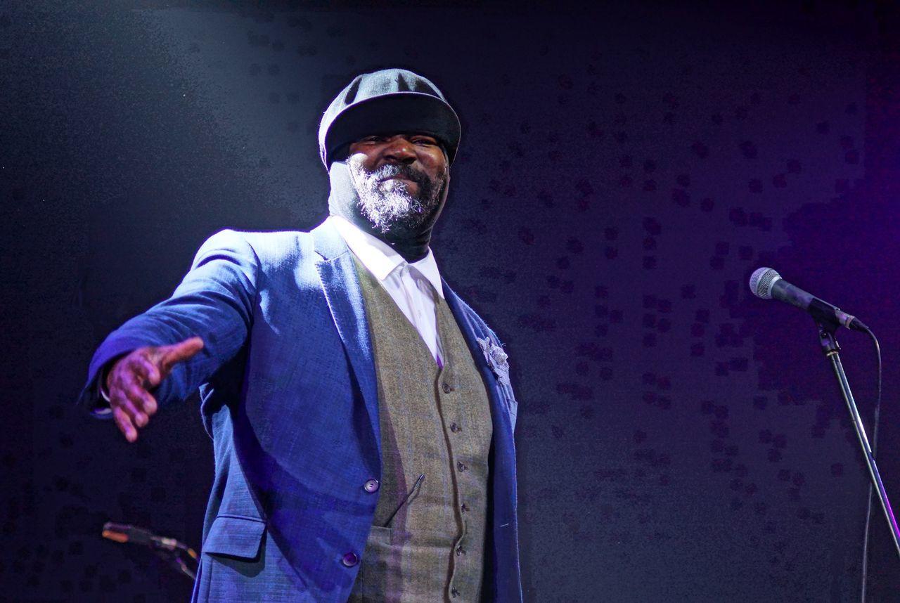 2015  American Singer Best Jazz Vocal Best Jazz Vocal Album Grammy Award Winner Gregory Porter Kaunas Jazz