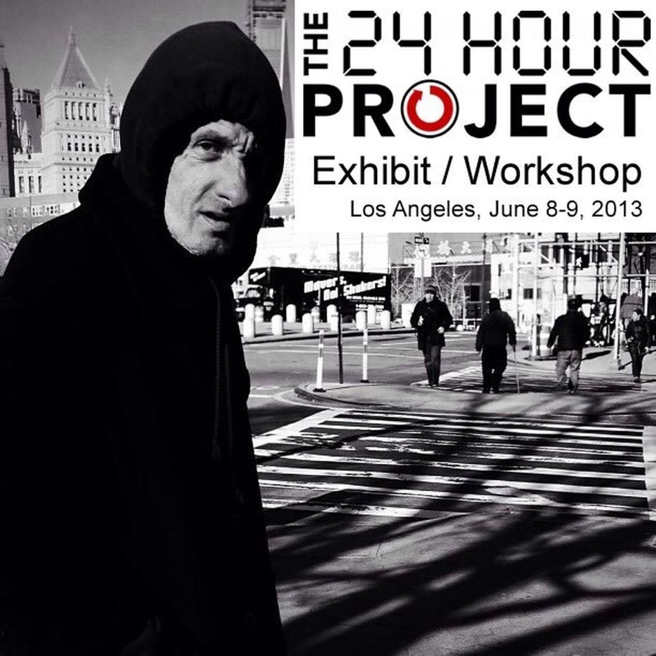 I'm excited to announce that there will be a @24HourProject : Exhibit / Workshop in Los Angeles. Please join us for the Exhibit and register for the Workshop at @24HourProject website. ~~~~~~~~~~~~~~~~~~~~~~~~~~~ The presenters are: @koci @benjaminheath @