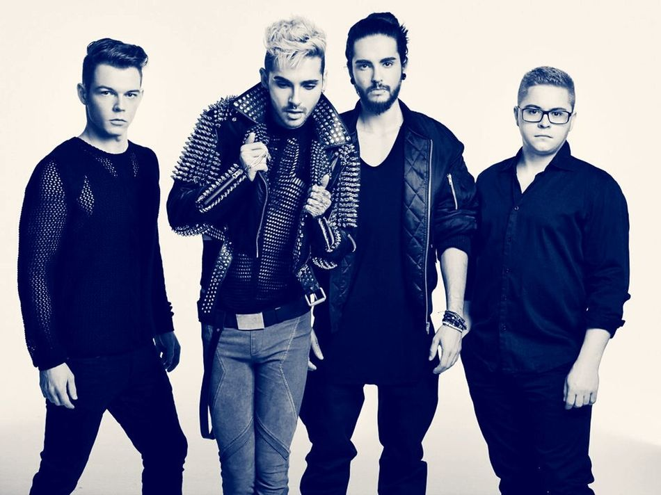 They're just so amazing Tokio Hotel BillKaulitz  Tomkaulitz Gustavschäfer Georglisting KingsOfSuburbia Kos GreatBand Rockstars Fellitall