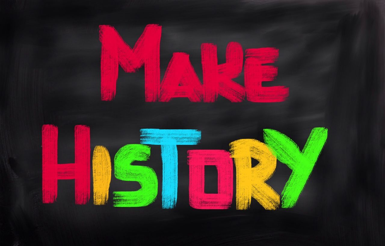 History Blackboard  History Make Make History Makeing Story