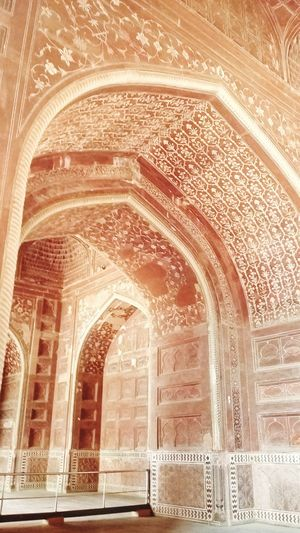 I clicked it in Agra. Hope you like it. Architecture History Arch Architecture Built Structure History Building Exterior Low Angle View Ornate Church Place Of Worship Religion Spirituality Indoors  Travel Destinations Ancient Façade Tourism The Past Day Sunbeam Architectural Feature First Eyeem Photo