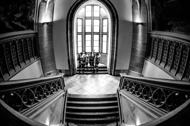 Guardians in the Townhall of Aachen. Ancient Times Antique Eye4photography  EyeEm Best Shots GERMANY🇩🇪DEUTSCHERLAND@ Guardians Guards Heritage Heritagebuilding Huge Window Knighthood Monochromatic Monochrome Monochrome _ Collection Monochrome Photography Monochrome_life Steps Wide Angle Wide Angle View Wide Open Spaces Wide Shot Window