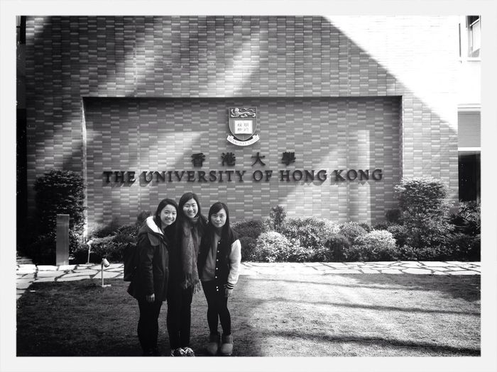 End of the semester. Black And White School University Life Friends