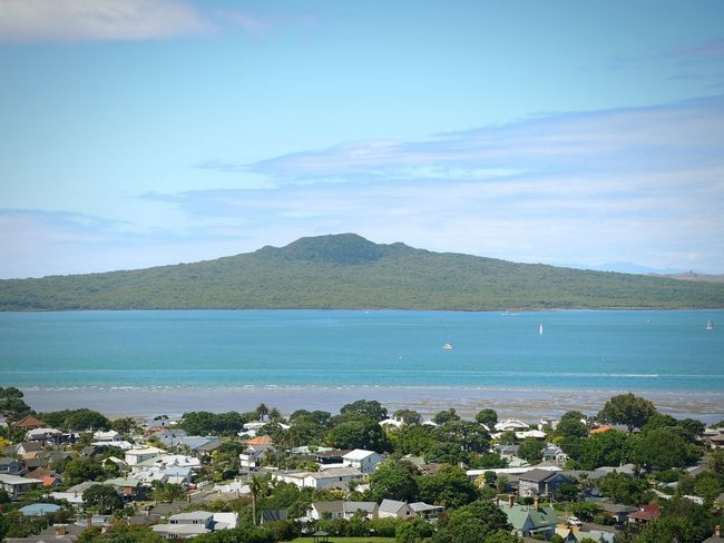 Rangitoto Island Rangitoto Island Rangitoto Travel Blue Water New Zealand Landscape New Zealand Beauty Nature New Zealand New Zealand Coast Mount Victoria Landscapes With WhiteWall