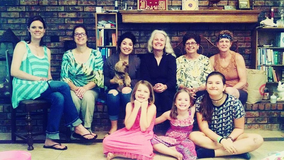 Annette,my sister and all her family of Shaw sisters! Hanging Out First Eyeem Photo