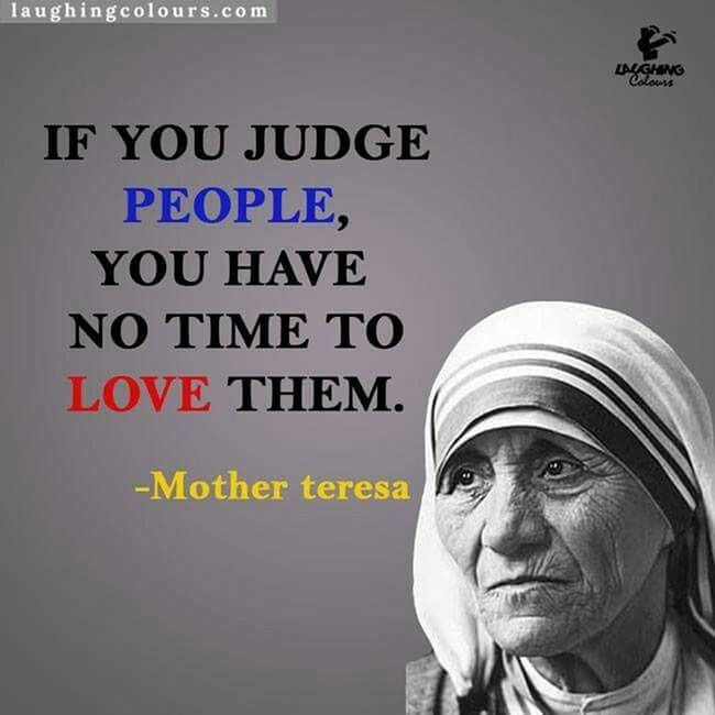 Mother Teresa Quote Of The Day  Meaningful