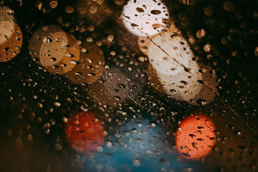 Backgrounds Blur Bokeh Car Cold Freshness Glass Night Rain Streetphotography Water Winter