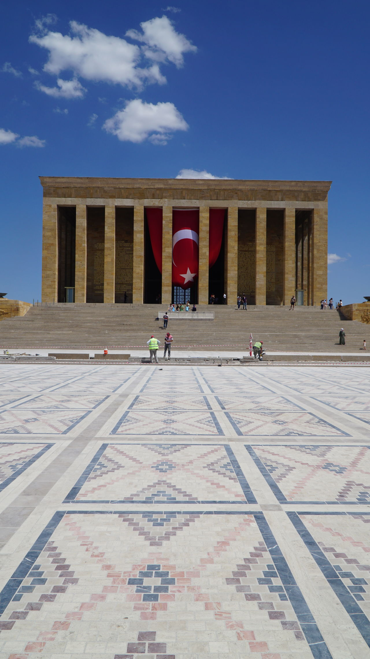 Anıtkabir Architecture Atatürk Famous Place Sky Travel Destinations Turkey Türkiye
