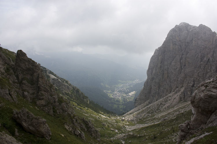 Alps Dolomites, Italy Hiking Italy Mountains Panorama Summer