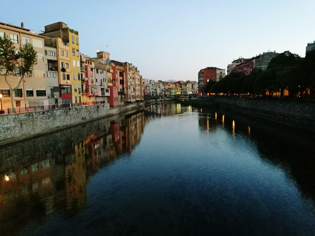 Sunset in Girona, Catalonia. City Girona Gironamenamora River MedievalTown Sunset Autumn First Eyeem Photo
