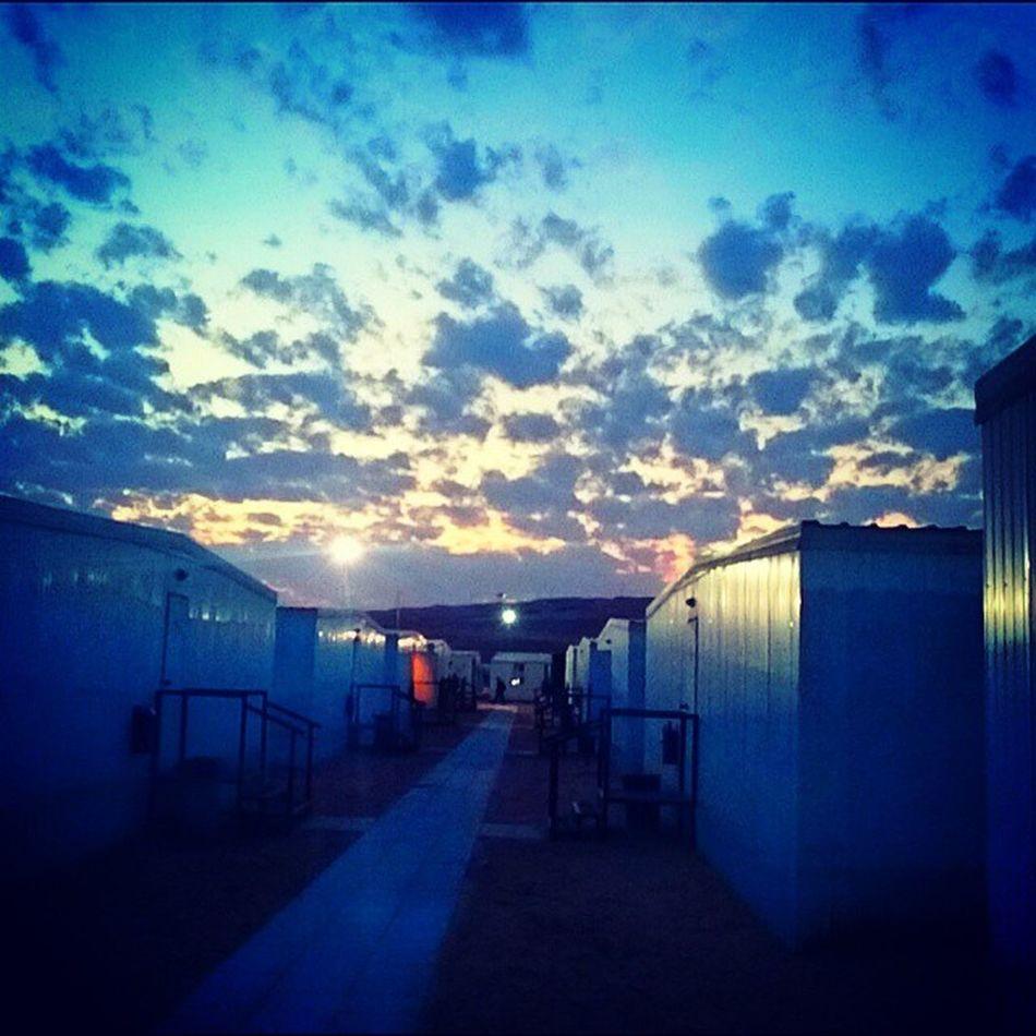 Sunset Saudiarabia Samsungengineering camp 3 Shaybah package 4 Awsome