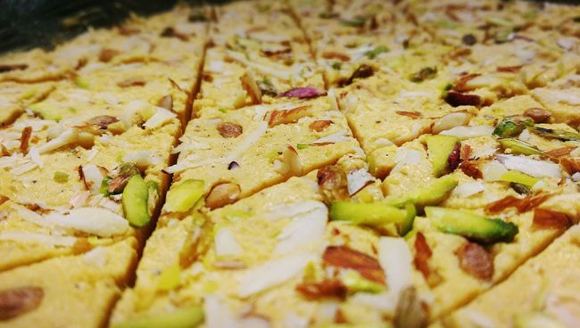 Diwalicelebrations Diwali 2015 Diwali Celebration Diwali Sweets Indian Sweets Homemade Indian Food Homemade Food Homemade Sweets Diwali Food Food Photography Foodie Vegetarian Food Tasty Treats Tastyfood Delicious Dryfruits Dryfruit Halwa Sweets Food Decoration Decorated Food