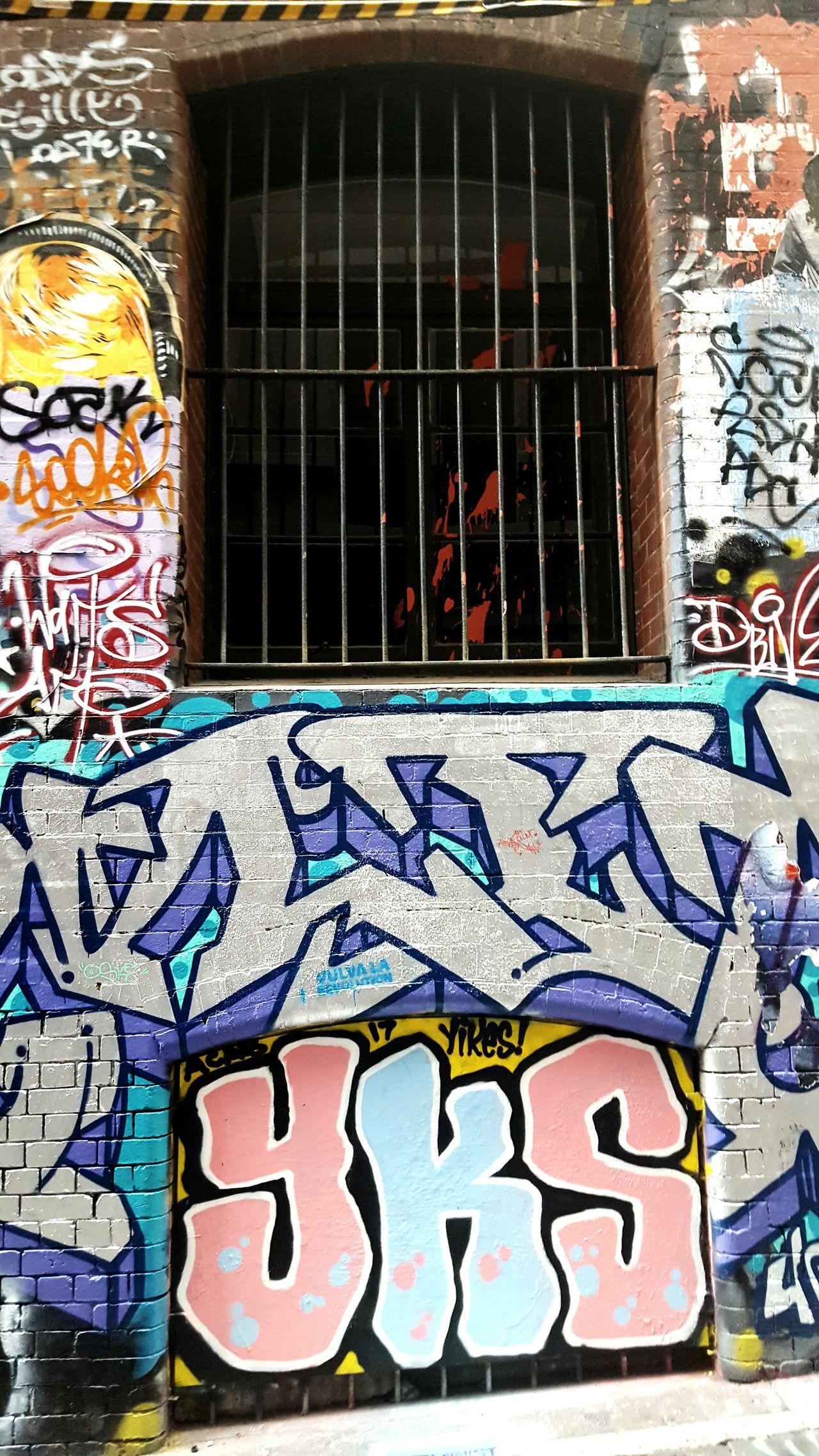Urban melbourne art Laneway Art Graffeti