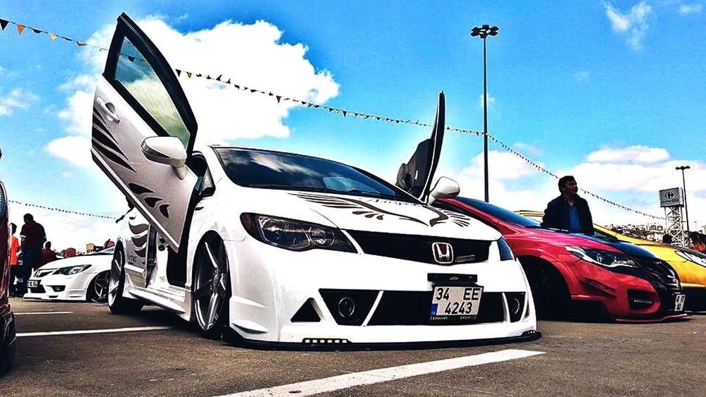 My Favorite Photo Honda Honda Civic Modified Otoshow Photography ın Motion EyeEm Best Shots Car Modify Car Modıfıed Eye4photography  Gettyimages Open Edit