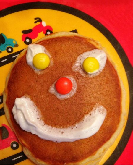 Getting Creative Pancakes Funny Faces Fun With Food Breakfast Creative Smiley Face Silly Faces  Funny Colour Of Life Everything In Its Place Handmade For You Happy Be Happy Lieblingsteil Don't Worry, Be Happy Happy Happy Face Happy Faces Smile Smiles Smiling Smiling Face Home Is Where The Art Is Time For Breakfast