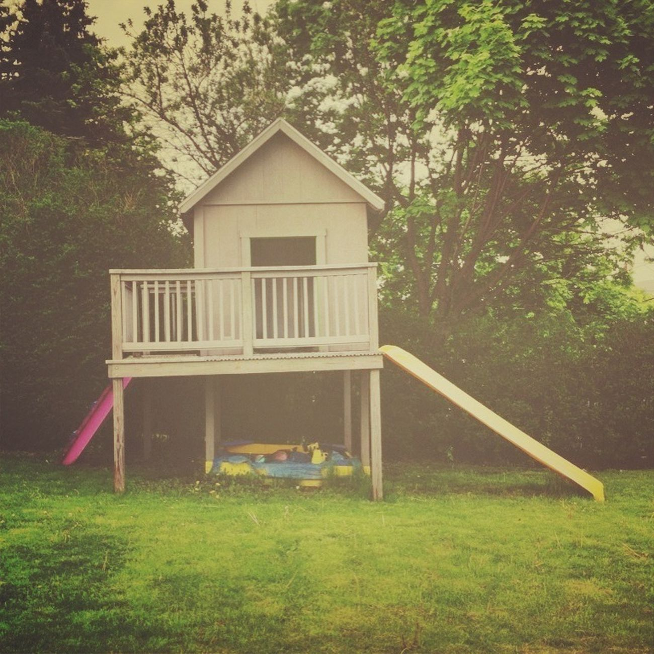 Playground House Outdoors