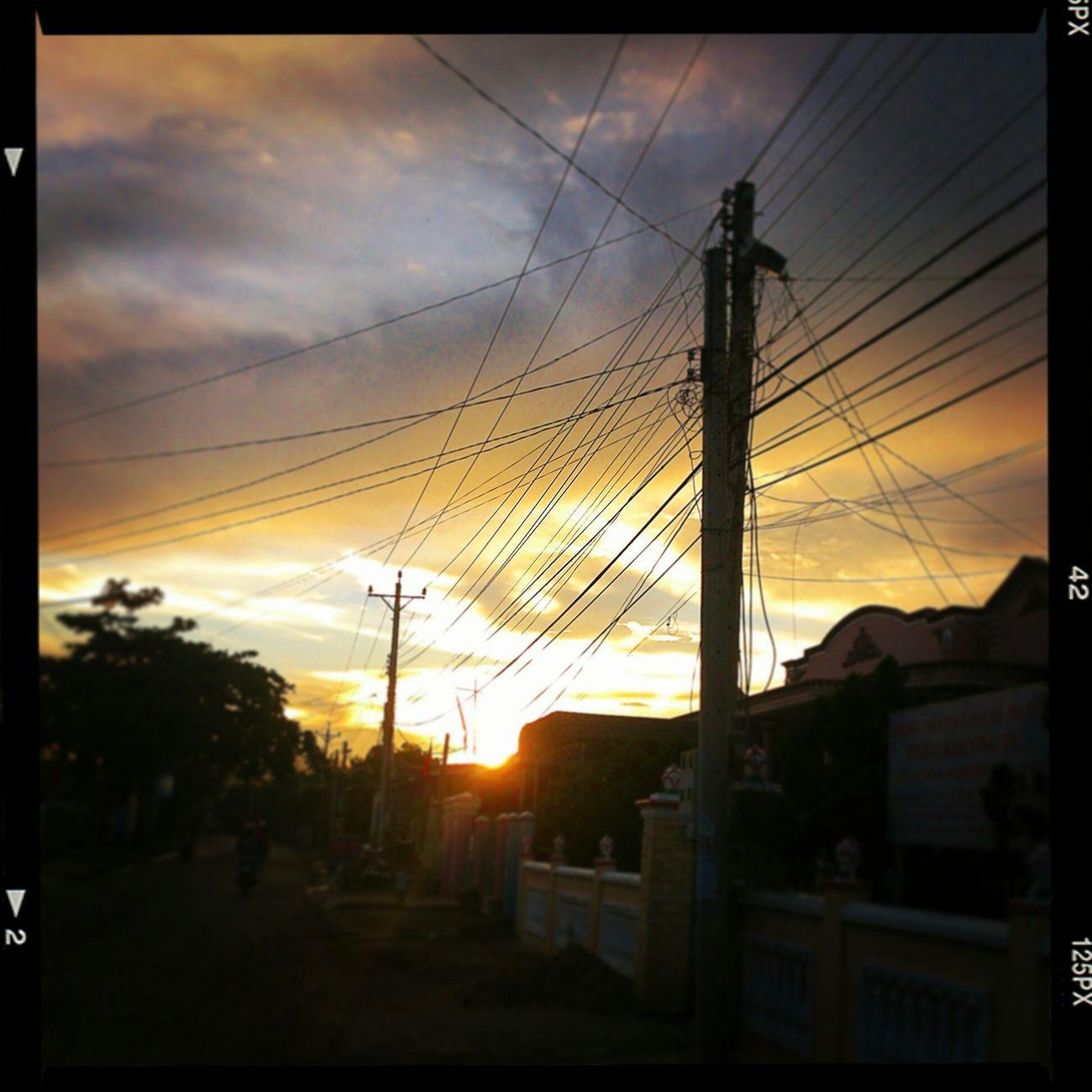 By my phone.. Landscape , Sundown , Homtown Vungtau Vietnam Hometown Taking Photos