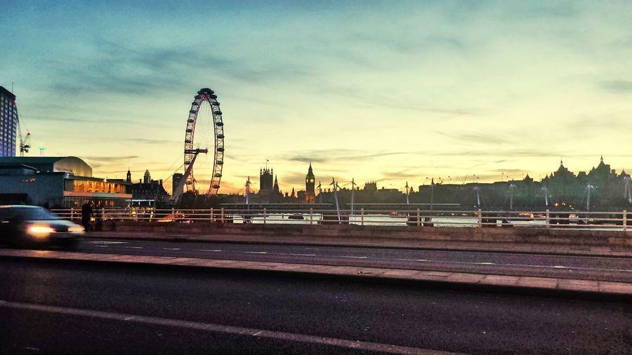 Dramatic Sky City London London Nights Afternoon City