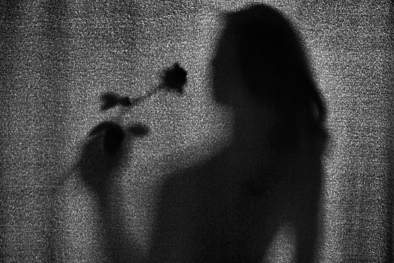 shadow, focus on shadow, heterosexual couple, togetherness, love, couple - relationship, two people, mystery, horror, spooky, men, real people, standing, women, adults only, day, indoors, people, adult, close-up