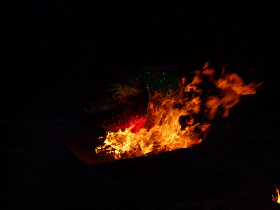 1704, fire Bonfire Burning Close-up Flame Heat - Temperature Nature Night No People Outdoors
