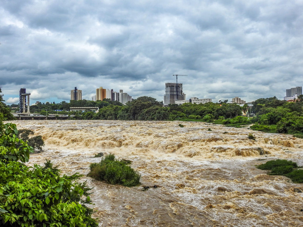 Architecture Built Structure City Cityscape Cityscapes Cloudy Famous Place Outdoors Piracicaba Piracicaba River River Travel Destinations Water Waterfront