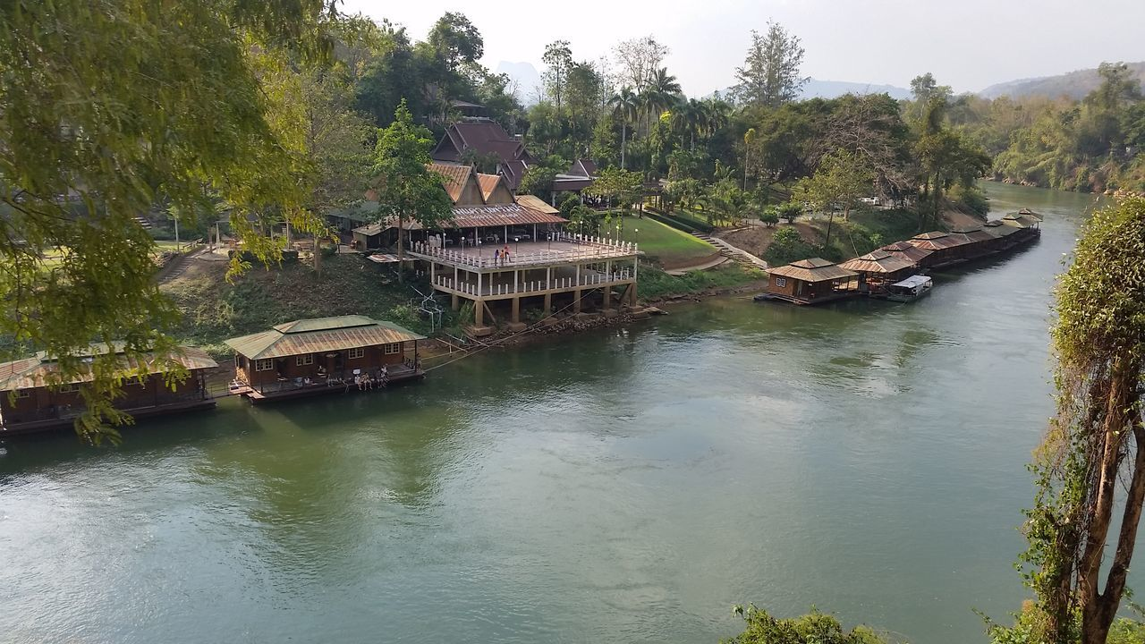 River Kwai River View Train Window Nature Niceday Relaxing Taking Photos Sumsungs5