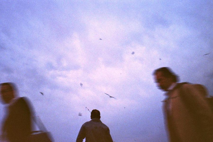 Dreamy Fisherman Istanbul Purplesky Colorlove 35mm Film Analogue Photography Filmisnotdead Streetphotography