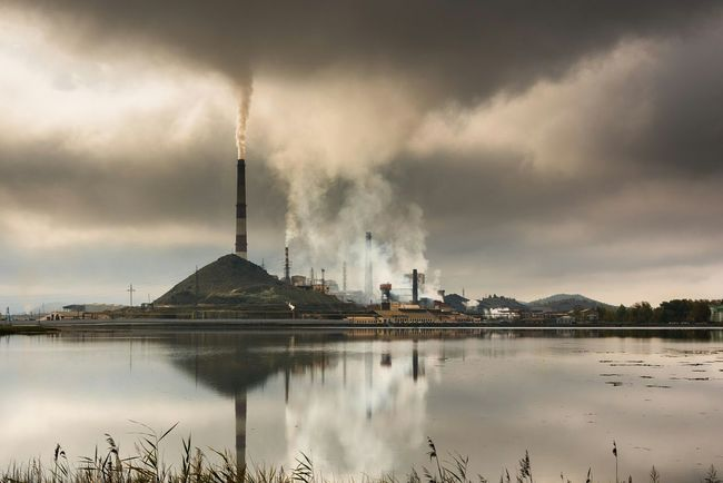 Karabash city (Mining Processing Plant) Hyper trash. (No photoshop) Karabash City Trash Clouds Lake Summer Showcase: November Seeing The Sights Picturing Individuality Russia Chelyabinsk My Favorite Photo