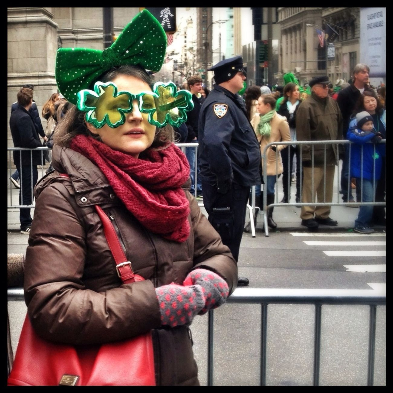 Streetphotography Candid St. Patricks Day Streetphoto_color
