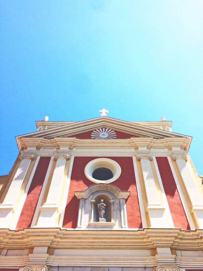 Church in South of France Church Sun Summer Southoffrance Provence Praise Beutiful  First Eyeem Photo