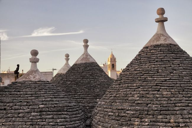 Alberobello Architecture Houses Nice Villages Puglia South Italy Trulli Villages