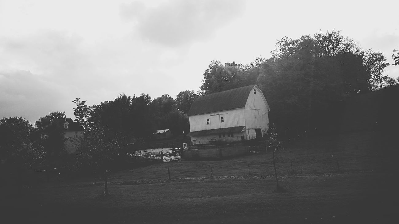 Autumn Wisconsin Barn Vintage Backroads Antique