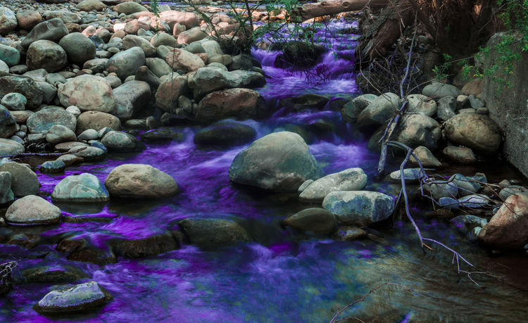 Beauty In Nature Day Environment First Eyeem Photo Happy Nature No People Outdoors Purple Rock - Object Water