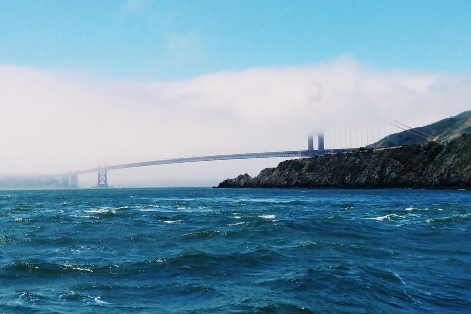 Beautiful stock photos of san francisco,  Bay Of Water,  Beauty In Nature,  Blue,  Bridge - Man Made Structure