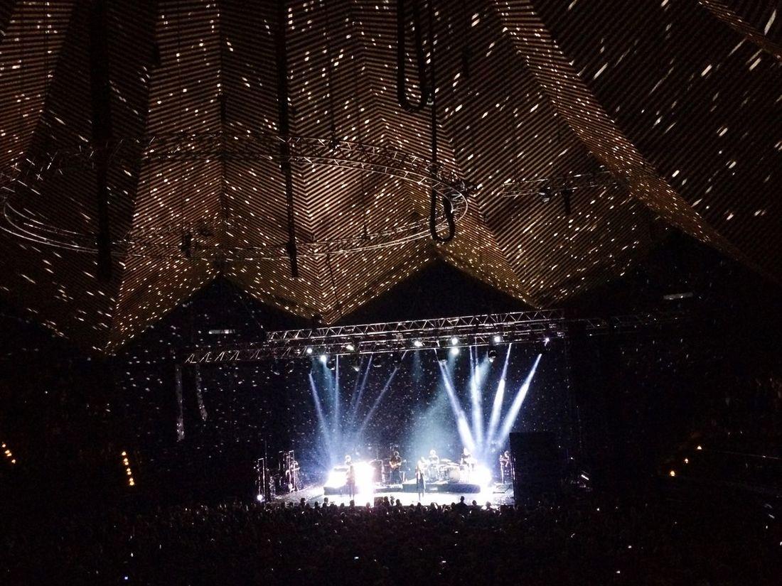 We were here Boy Discolights Concert