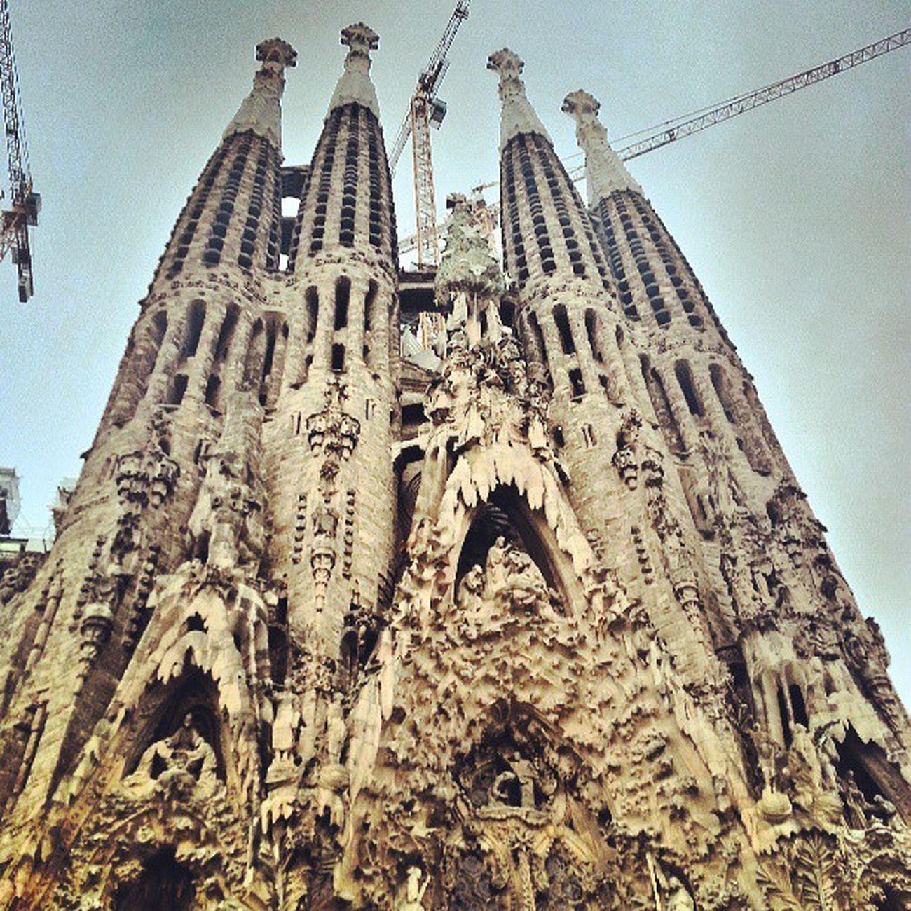 Gaudi Barcelona Sagradafamilia