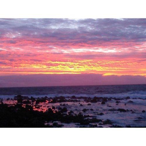 Sunrise Firey  Skyporn Colorful Bigislandlove Luckywelivehawaii Love_my_hawaii Beautiful HiLife Goodlife Pohoiki Puna PC: @rebasone Lovely Photo Instapict Instahi Simplethingsmakemehappy Aloha