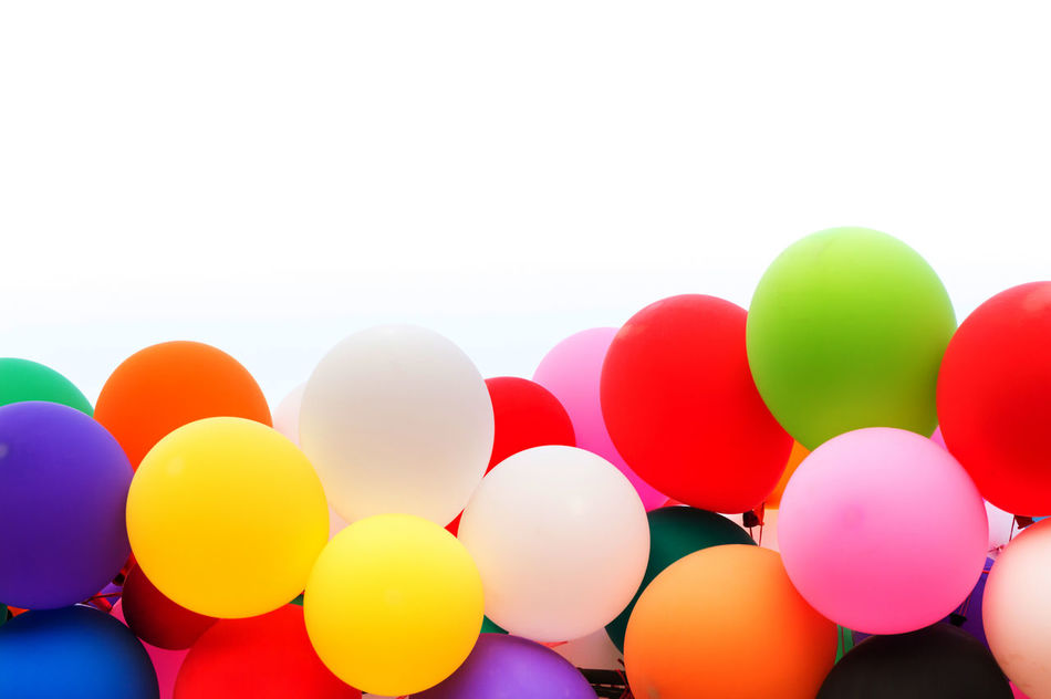 Backdrop Background Backgrounds Balloon Celebration Celebration Event Circle Congretulation EyeEm Freedom Group Helium Helium Balloon Holiday - Event Isolated Multi Colored No People Outdoors Party - Social Event Pattern Red Vibrant Color White White Background Yellow