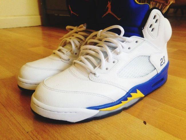 """Sneakerhead  Sneakers Shoes Fashion Jordans Jordan 5 """"laneys"""" Wdwyt"""
