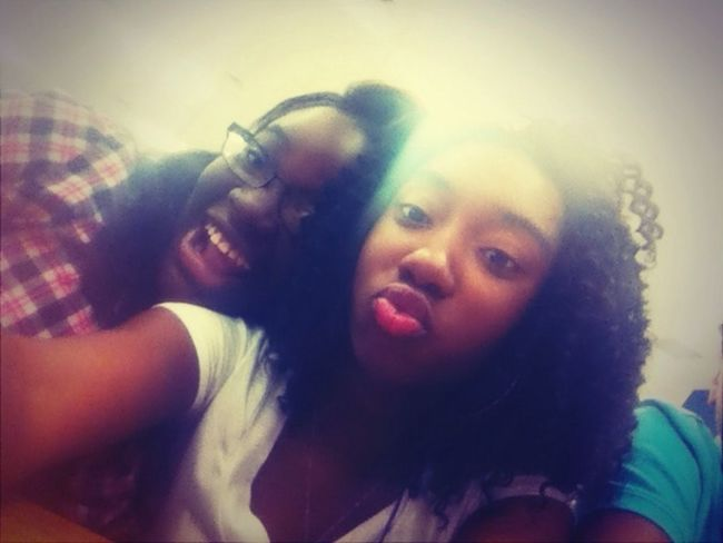 Me & Main At Lunch