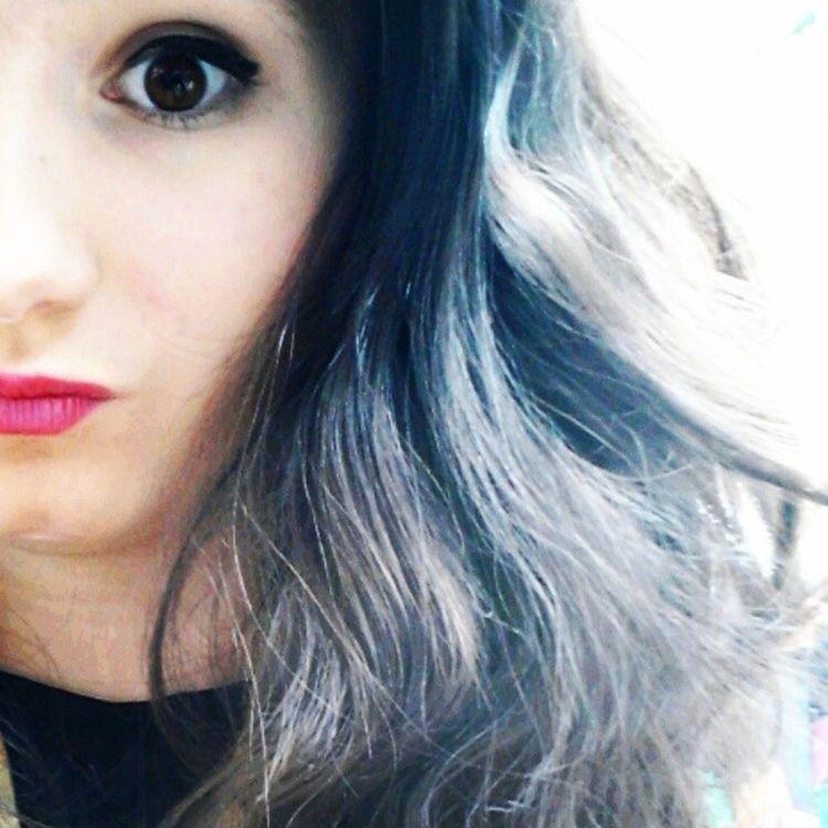 random selfie but i love summer Summer Lippy Makeup