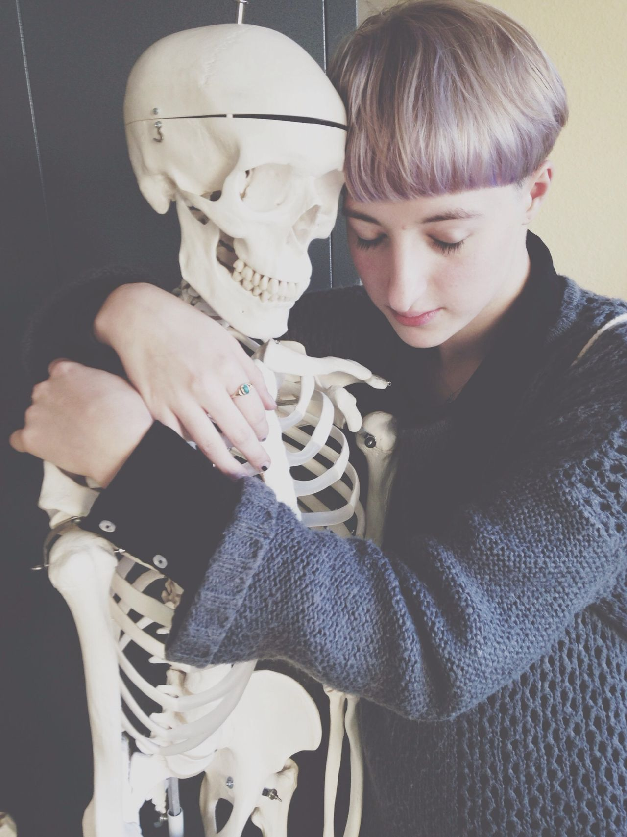 Lovers Selfportrait Steph Filter Skeleton RePicture Love