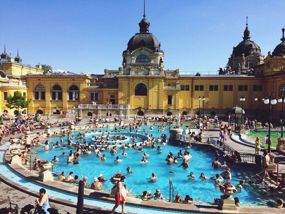 Magyarország Széchenyi Baths Bath Terme Ungheria Hungary Hungria