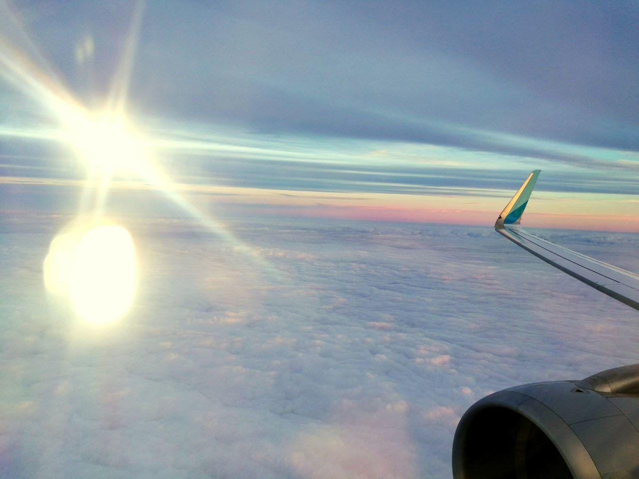 AirPlane ✈ Airplane Sky Heaven♥ Heavenly Clouds Heaven HeavenlyCloud - Sky Flying небо облака небо и облака небо⛅️ небо небеса