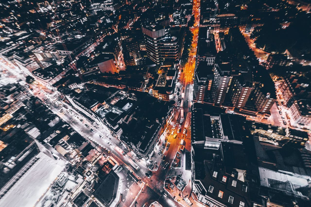 2AM. Architecture Building Exterior City Cityscape Aerial View A Bird's Eye View Night City Life EyeEm Best Shots Modern Photography Urban Skyline Exploring EyeEm Taking Pictures Cityscape Check This Out Open Edit London Explore Taking Photos Urban City Street City Life Nightphotography
