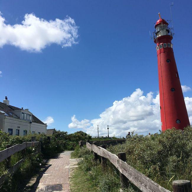Schiermonnikoog Island Northsea Skyporn Dutch Countyside Nature_collection Red
