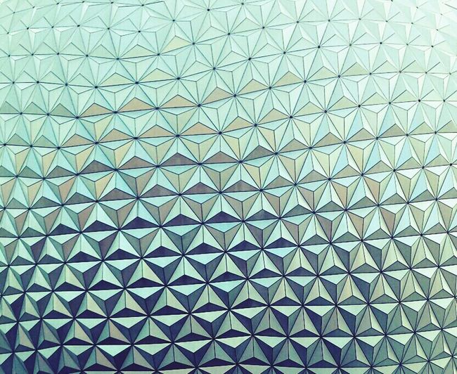 Epcot, Orlando Florida. Smart Simplicity Textures And Surfaces