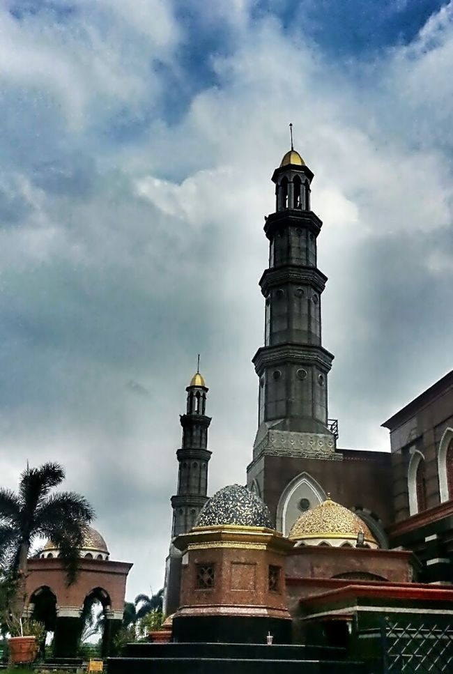 Good Morning! Hello World Praying Mosque